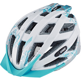 UVEX air wing Helmet Junior lightblue-silver